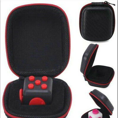 1pc Carry Case For Stress Relief Fidget Cube Reduce Pressure Family Adults Kids