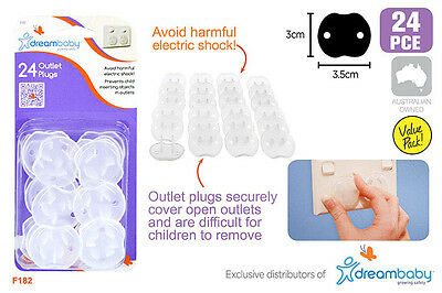 24 / 48 Baby Child Safety Plug Power Board Socket Outlet Point Protective Covers
