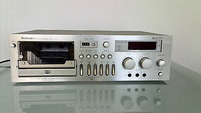 Stereo Cassette tapedeck Technics RS-673  ~ 1977 -3 months warranty