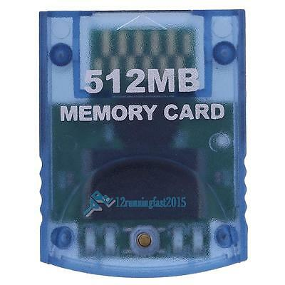 512MB Memory Card Stick for Nintendo Wii Gamecube NGC Console Video Game New!