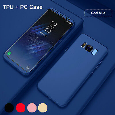For Samsung Galaxy S8 Plus Case Genuine Shockproof Hybrid Rubber Bumper Cover AU