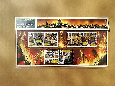 royal mail stamps the great fire of london 2016 mint condition
