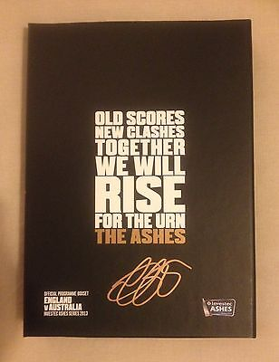 Hand Signed ALASTAIR COOK Ashes BOX SET 2013 All 5 Brand New ENGLAND v AUSTRALIA