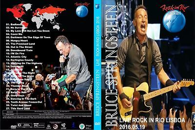 Bruce Springsteen. 2016. Rock In Rio Festival. Pro - Shot. Dvd.