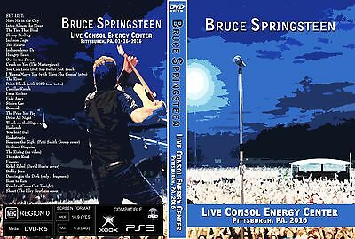 Bruce Springsteen. 2016. Pittsburgh. The River Tour. 2 Dvd.
