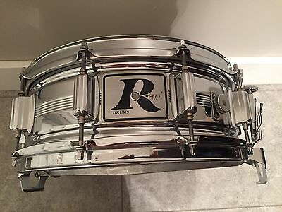 Rogers dynasonic snare 5 x 14 new puresound snappy snare