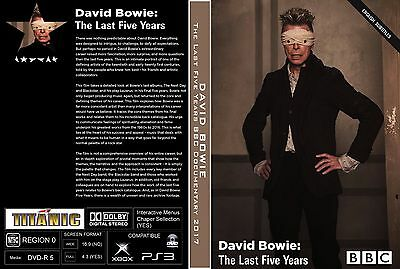 David Bowie. 2017. The Last Five Years. Documentary. Pro - Shot. Dvd.