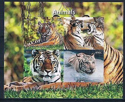 Bloc Sheet Tigre Tiger neuf ** MNH IMP Malawi 2011 - Private / Local issue