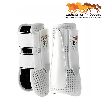 Equilibrium Tri-Zone Open Fronted Tendon Boots **SALE**