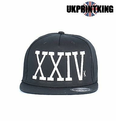 Xxiv. As Worn By Bruno Mars Snapback Fashion Embroidered Rapper Caps Hats
