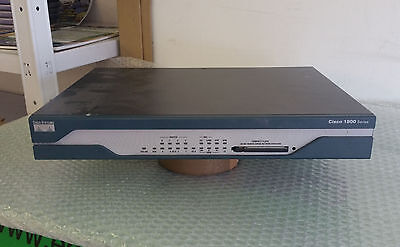 Router Cisco 1801 128Mb ram 32Mb flash switch 8 porte fastethernet adsl isdn