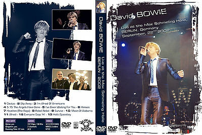 David Bowie. 2002. Live At Max Schmeling Halle. Berlin. Pro - Shot Dvd.