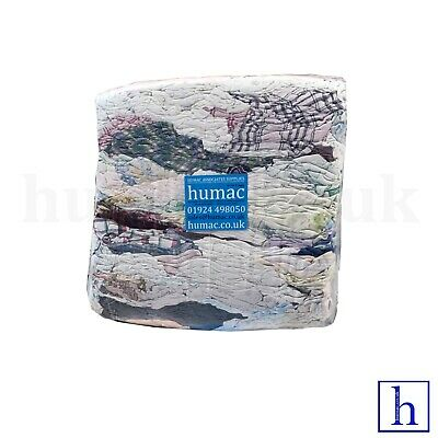 Flanellette Wyncette Flannel Workshop Mechanic Rag Wiping Cotton Polishing HUMAC