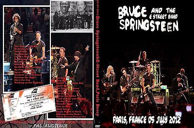 Bruce Springsteen. 2012. Paris. Bercy. Second Night. 2 Dvd.