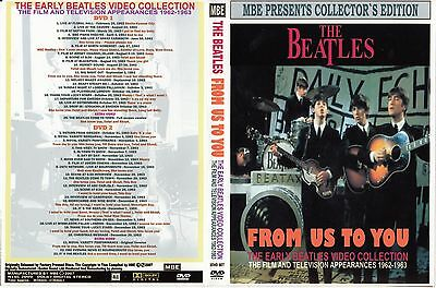 The Beatles. 1962 - 1963. Early Videos Collection. 2 Dvd.