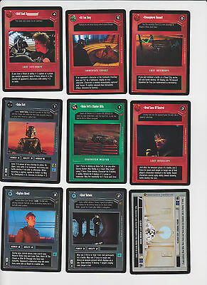 Star Wars CCG Cloud City Limited Edition BB Complete Set 180 Cards Decipher TCG