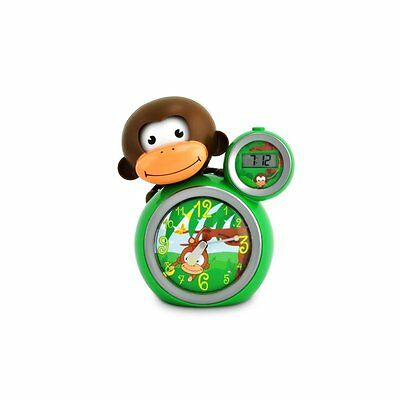 Baby Zoo MoMo Monkey Sleeptrainer Clock - Brand New boxed - Green