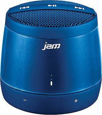 HMDX Jam Touch Control Portable Bluetooth Wireless Speaker with Mic - Blue