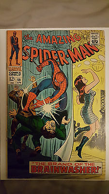 Amazing Spider-Man #59 (Marvel Comics) 1st Mary Jane Cover! 1967