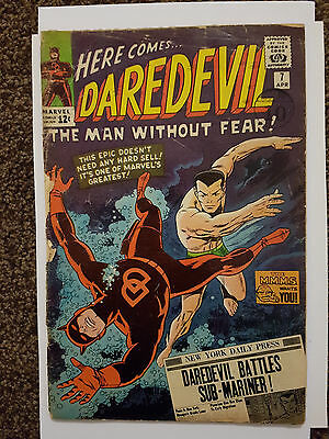 Daredevil #7 1st app of Red Costume (Silver Age Marvel Comic)