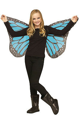 Brand New Monarch Butterfly Child Wings (Blue)
