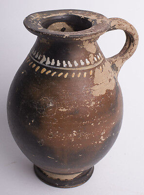 Ancient Greek South Italian Gnathian Ware Jug c.4th century BC.