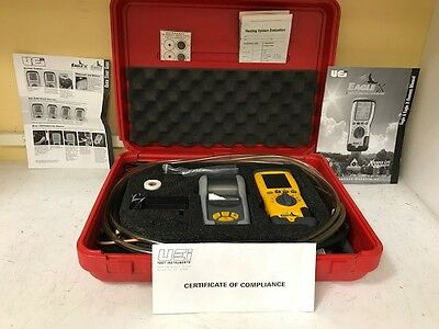 UEi C125-Kit Eagle 2 Combustion Analyzer Kit with Printer Case and Manuals