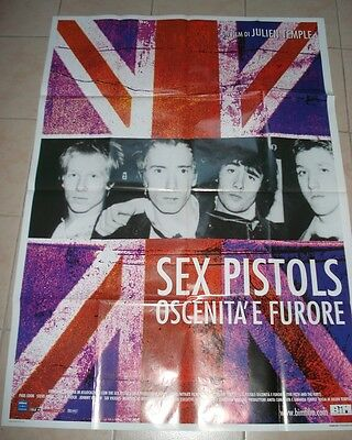 SEX PISTOLS, The Filth And The Fury, rare original poster