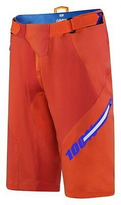 100% Airmatic Blaze Shorts - Orange - Mountain Bike Trail Enduro