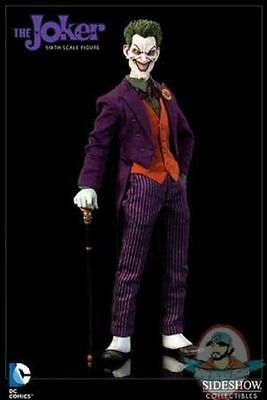 """Sideshow Collectibles DC Comics THE JOKER 1/6 Scale 12"""" Action Figure NEW  VHTF"""