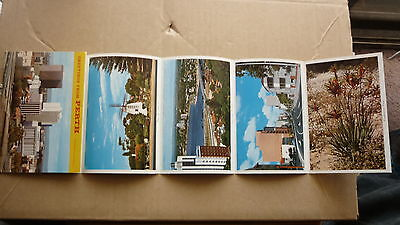 OLD AUSTRALIAN POSTCARD VIEW FOLDER, 1970s PERTH WEST AUSTRALIA