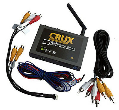 Crux Wi-Fi Audio/Video Interface 2012-Newer Toyota & Scion 2012-UP WVITY01