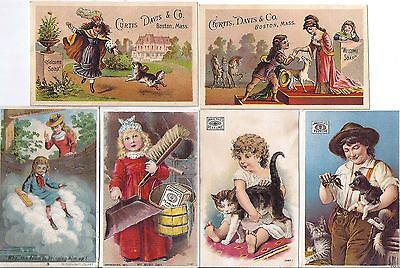 16 Victorian Soap Trade Cards Pyle's Welcome Acme Misc.