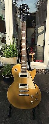 Epiphone Les Paul Traditional Pro Gold Top Electric Guitar & Gigbag