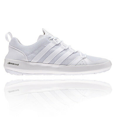 Adidas Terrex Mens White Climacool Boat Outdoors Walking Hiking Shoes