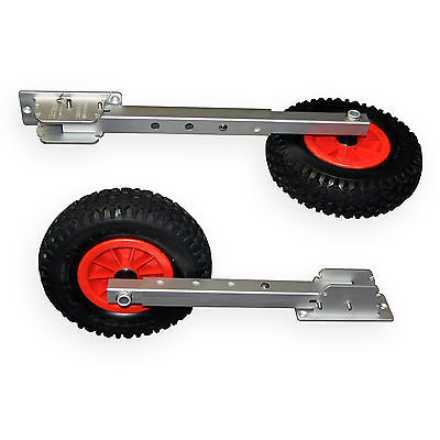 Seamax Deluxe 4x4 Boat Launching Wheels Set - High Quality Commercial Standard