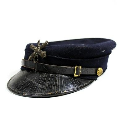 M1895 M95 Us Army Enlisted Men Forage Cap Hat W/ Artillery Insignia Arty Cannon