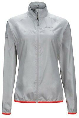 Marmot Womens Trail Wind Jacket - Glacier Grey