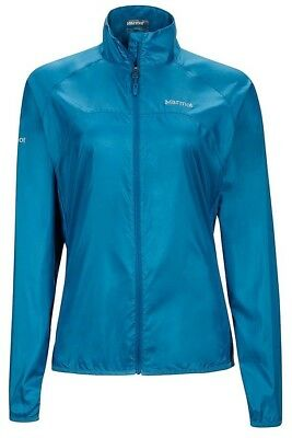 Marmot Womens Trail Wind Jacket - Slate Blue