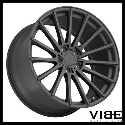 "19"" Tsw Chicane Gunmetal Concave Wheels Rims Fits Infiniti G37 G37S Coupe"