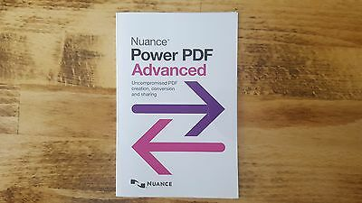Nuance PowerPDF Advanced v2.0 English Brand New!!! *** Buy Now Save 60% ***