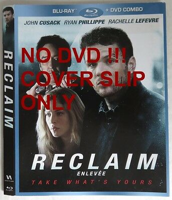 No Discs !! Reclaim Blu-Ray Cover Slip Only - No Discs !!      (Inv13481)