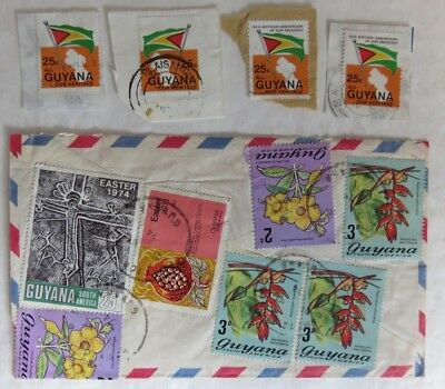 1970's COLLECTION OF GUYANA STAMPS                      (INV13453)