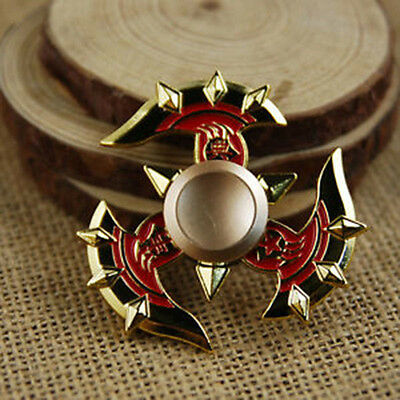 Hand Spinner Tri Fidget Finger Spinner EDC Spin Stress Focus Desk Kids Toy Gift