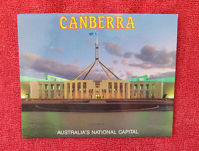 Vintage Australian Post Card Viewfolder - Canberra