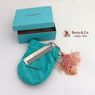 Tiffany And Co Baby Comb Sterling Silver