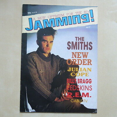 JAMMING! MAGAZINE Issue No.17 The Smiths / Morrissey front cover New Order R.E.M
