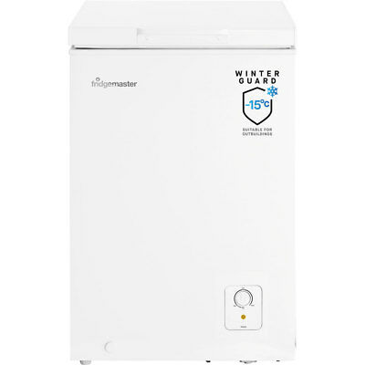 Fridgemaster MCF95 Free Standing 95 Litres A+ Chest Freezer White - from AO