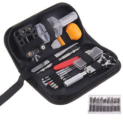 288pcs Watch Tool Kit Remover Repair Kits Watch Fixing Tool Screwdriver UK