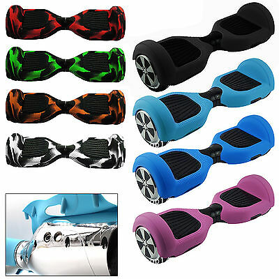 Silicone Case Cover For 2 Wheels Self Balancing Scooter Hover Board Protection